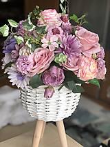 Dekorácie - Kvetinová dekorácia veľká - 10569598_