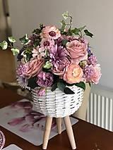 Dekorácie - Kvetinová dekorácia veľká - 10569600_