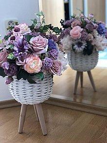 Dekorácie - Kvetinová dekorácia veľká - 10569599_