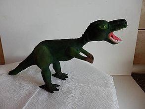 Suroviny - ozdoba na tortu Dinosaurus ,T-rex - 10569141_