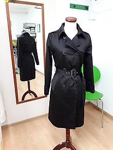Kabáty - Čierny trenčkot - 10569657_
