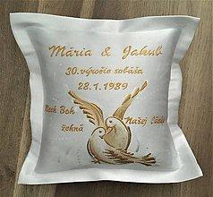 Darčeky pre svadobčanov - Darček k výročiu sobáša - 10571404_