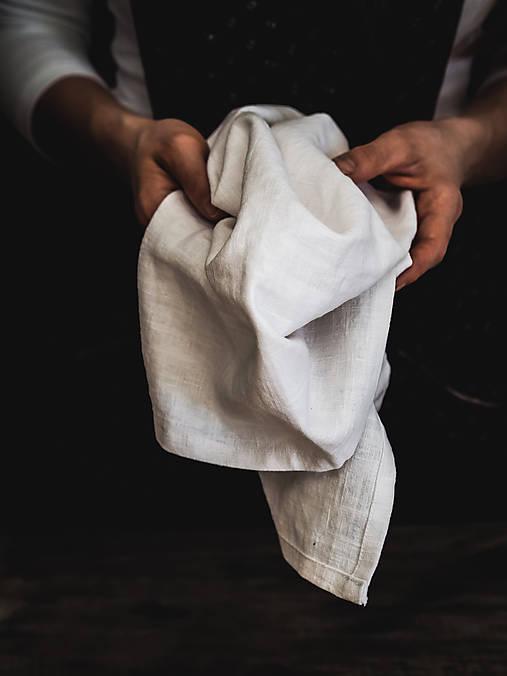 Úžitkový textil - Ľanová utierka - 10570456_