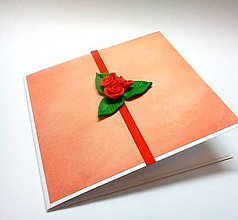 Papiernictvo - Pohľadnica ... ružičky - 10574316_