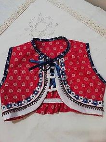 Detské oblečenie - Detský lajblik ku kroju - 10574239_