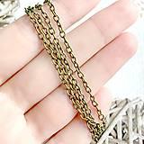 Náhrdelníky - Bronze Chain / Bronzová retiazka /1356 - 10571597_