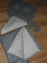 Textil - Podložka do Peg Perega a neodkopnuteľná deka - 10572858_