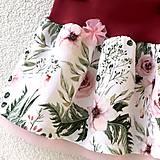 Detské oblečenie - Růžová zahrada - suknička - 10574906_