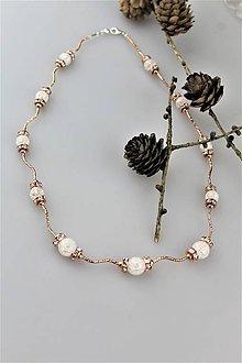 Náhrdelníky - krištál náhrdelník AKCIA! - 10574603_