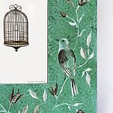 Rámiky - Ručne maľovaný rámček - Chinoizéria I - 10574046_