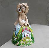 """Dekorácie - """"Horalka"""" - maľovaný zvonec - 10574175_"""