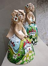 """Dekorácie - """"Horalka"""" - maľovaný zvonec - 10574177_"""