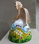 """Dekorácie - """"Horalka"""" - maľovaný zvonec - 10574182_"""