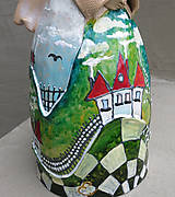 "Socha - ""Horalka 2"" - maľovaný zvonec - 10574205_"
