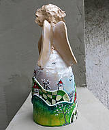 "Socha - ""Horalka 2"" - maľovaný zvonec - 10574229_"