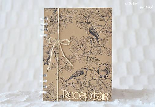 Receptárik (natural, birds)