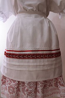 Iné oblečenie - Svadobná zásterka... - 10572457_