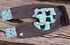 Detské oblečenie - Ježkove softshellové gate...jarné (92) - 10574156_