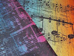 Textil - Lenny Lamb Symphony Rainbow Dark - 10571867_