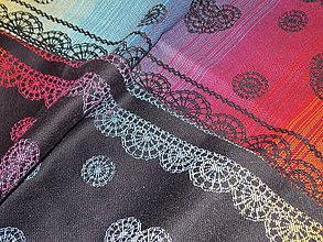 Textil - Lenny Lamb Rainbow Lace Dark - 10571901_