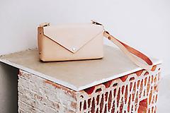 Taštičky - Kožená taštička na drobnosti, doklady - 10572260_