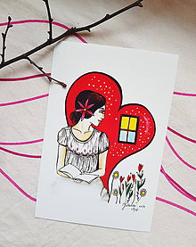 Kresby - Okno do srdca - 10574791_