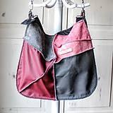 Veľké tašky - Casual leather *hobo* bag No.4 - 10571563_