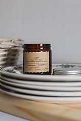 Sójová sviečka 130g v hnedom sklíčku (Nebuď čajová)