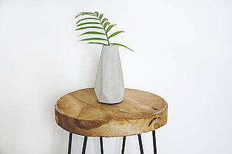 Dekorácie - Betónová váza Flores - 10572185_