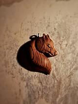Náhrdelníky - Prívesok vlčej hlavy  - 10573931_