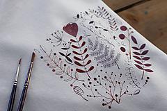 Tričká - Fialové láskanie - 10573933_