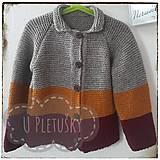 Detské oblečenie - Chlapčenský sveter - 10571598_
