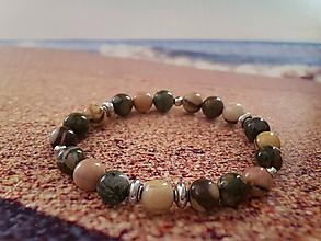 Náramky - Dámsky náramok pláž D023 - 10572644_