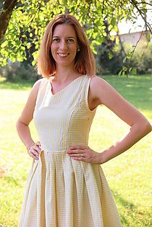 Šaty - Šaty na dojčenie YELLOW LEMON - 10571816_