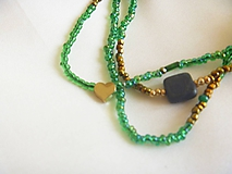 Náhrdelníky - náhrdelník/náramok - 10572195_
