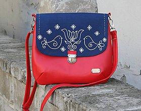 Kabelky - Ria XL červená AM 1 - 10571711_