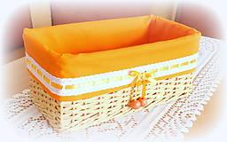 Košíky - Košík mandarinka 3 - 10572768_