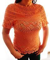 Topy - halenka letní, oranžová - 10574345_