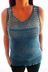 Topy - halenka letní, modrá - 10574499_