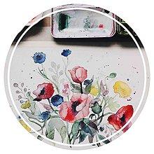 Kurzy - MINIWORKSHOP akvarelovej maľby, MAKY A POĽNÉ KVETY - 10572655_