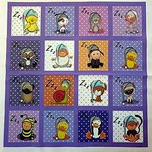 Textil - Bavlněný panel i na pexeso 47x47cm  NPG18 - 10578158_