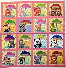 Textil - Bavlněný panel i na pexeso 47x47cm  NPG34 - 10578195_