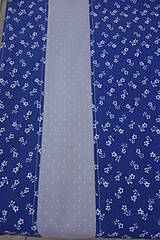 Úžitkový textil - Stredový obrus - motív modrotlač - 10578142_