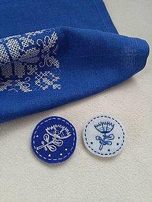 Odznaky/Brošne - Kvetinkové (brošne) - 10575513_