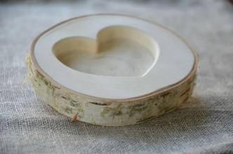 Prstene - Svadobná mištička, tanierik - jednoduchá krása.... - 10577737_