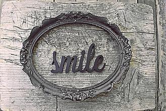Dekorácie - smile - 10577192_