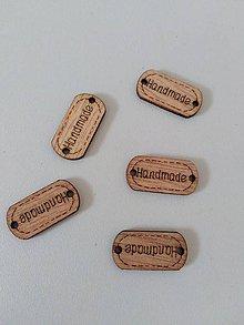 Komponenty - Handmade štítok - 10575595_