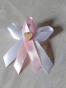 Pierka - Svadobné pierka ružové - 10575715_