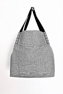 Veľké tašky - Veľká svetlá pepito taška - 10576281_