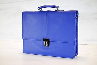 Veľké tašky - Pánska aktovka - Mikelo No.2 + peňaženka zadarmo - 10578370_